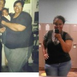 Shay has lost 156 pounds!  She is amazing!