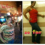 Shamieka lost 40 pounds by eating right