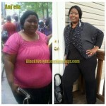 Anj'ela lost 146 pounds with weight loss surgery