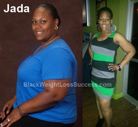 Jada lost 135 pounds | Black Weight Loss Success
