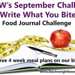September 2013 Challenge – Write What You Bite Challenge