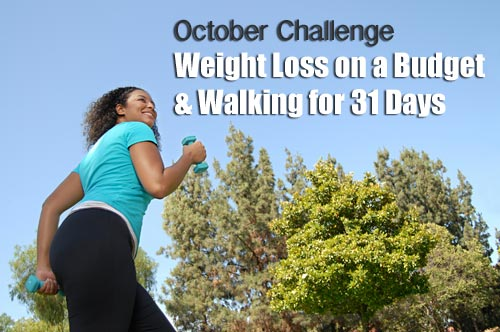 October weight loss on a budget