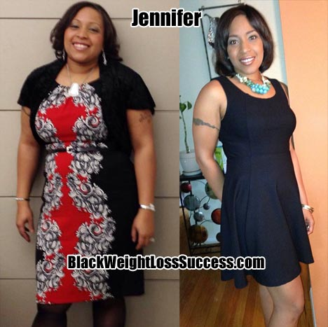 weight loss story Jennifer