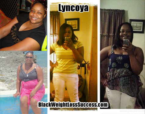 Lyncoya weight loss photos