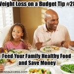 Weight Loss on a Budget Tip #28: Feed Your Family Healthy Food and Save Money