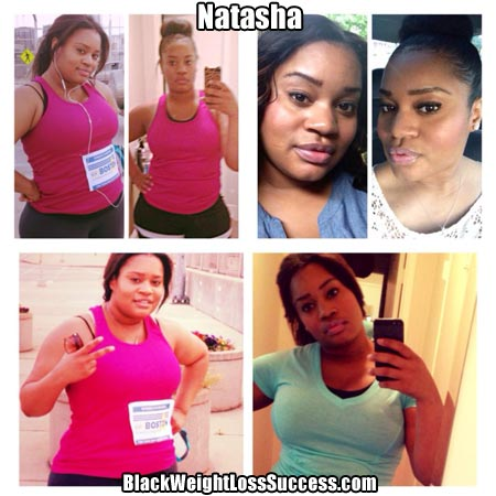 Natasha weight loss photos