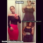 Updated: Sophia lost a total of 95 pounds