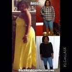 Anissa lost 35 pounds