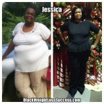 Jessica lost 64 pounds