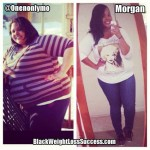 Morgan lost 101 pounds