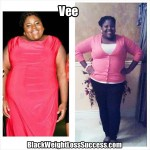 Vee lost 58 pounds