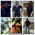 Shalaunda lost 165 pounds