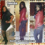 Tenisha lost 68 pounds