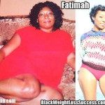 Fatimah lost 70 pounds