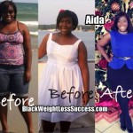Adia lost 40 pounds