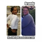 Brandy lost 131 pounds