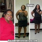 Ebony lost 130 pounds