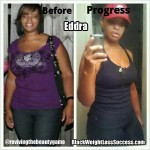 Eddra lost 50 pounds