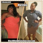 Marshea lost 81 pounds