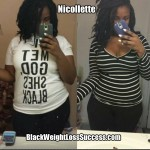 Starting Her Journey: Nicollette lost 15 pounds
