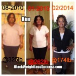 Kim lost 151 pounds