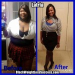 Latria lost 76 pounds with weight loss surgery