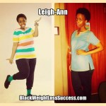 Leigh-Ann lost 37 pounds