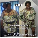 Meka lost 103 pounds