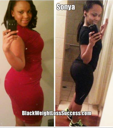Weight Loss Story of the Day: Sonya lost 28 pounds | Black ...