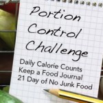 June 2014 Portion Control Challenge