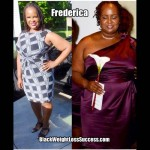 Weight Loss Story of the Day: Frederica lost 62 pounds