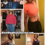 Anitra lost 153 pounds