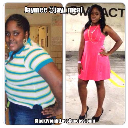 Jaymee before and after
