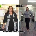 Sandy lost 65 pounds
