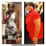 Sheryl lost 134 pounds in 3 years