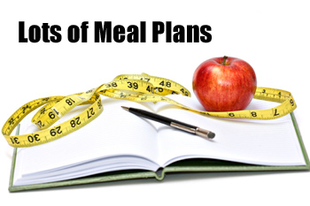 lots of meal plans