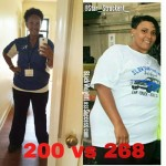 Starr lost 68 pounds