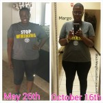 Margo lost 45 pounds