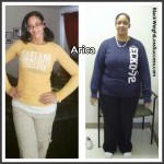 Arica has maintained her weight loss of over 100 pounds
