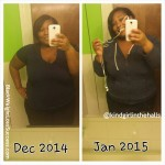 Tasha lost 47 pounds