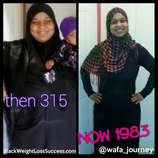 Wafa weight loss story