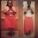 Sharonda lost 108 pounds