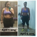 Sheila lost 39 pounds