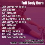 BWLW Full Body Burn Workout