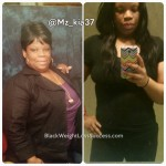 Nakia lost 82 pounds