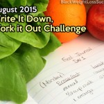 August 2015 Write It Down, Work it Out Challenge