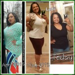 Ladii lost 75 pounds