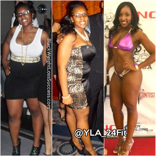 Kimberly lost 42 pounds | Black Weight Loss Success