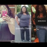 Chavonne lost 65 pounds