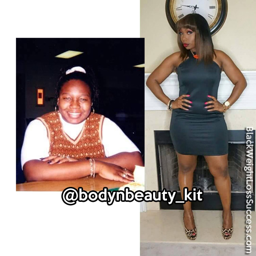 kit weight loss transformation